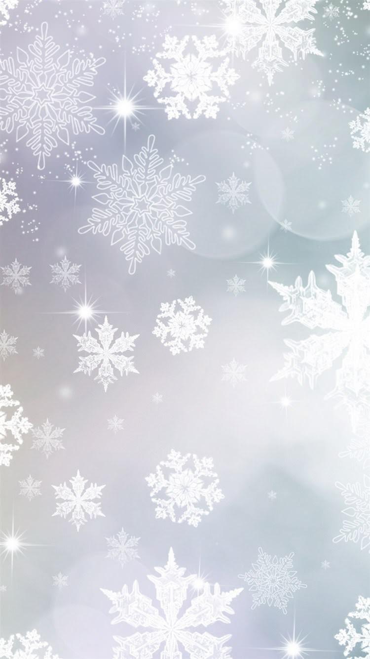 白の雪紋 Iphone6壁紙 Wallpaperbox