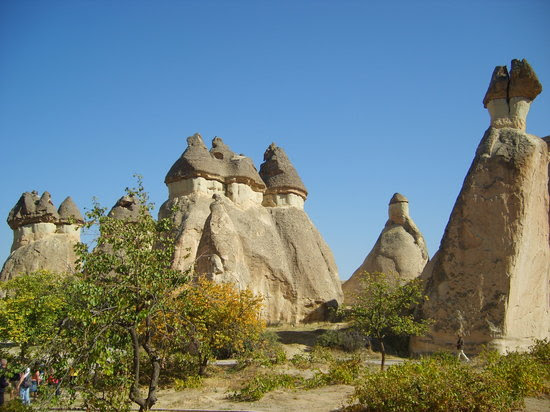 Cappadocia, Turkey: Fairy Chimneys