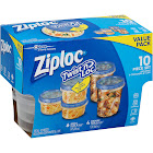 Ziploc Clear Food Storage Container Set - 10pc