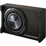 "Pioneer Shallow Series TS-SWX2502 Car Subwoofer - 10"" - 4 Ohm - Black"