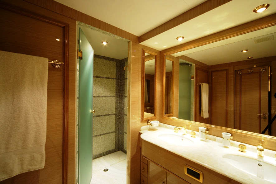 Luxury Yacht Charter O'RION - ORION - Twin Bathroom - Siar ...