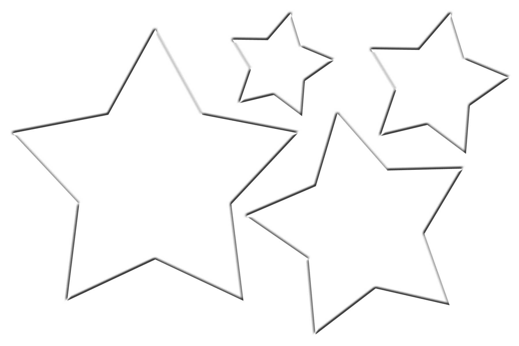 PillowChristmasTree star template - WonderfulDIY.com
