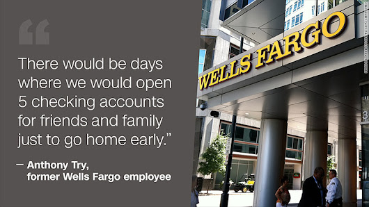Workers tell Wells Fargo horror stories