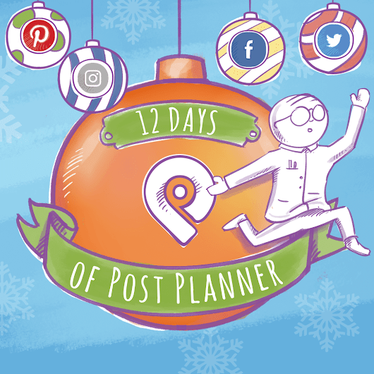 Enter to Win EVERY DAY in Post Planner's Holiday Sweeps!
