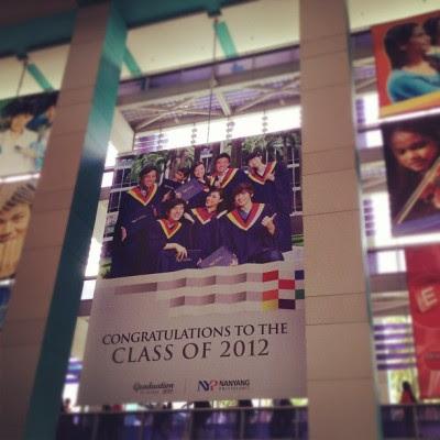 Bro's graduation! :') (Taken with instagram)