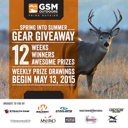 Spring Into Summer Gear Giveaway