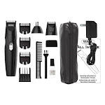 Wahl 6502835 All-in-One Beard Grooming System Black