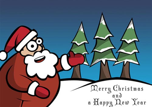 24 Free Christmas Photoshop Tutorials