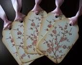Vintage-Inspired Cherry Blossom Gift/Wish Tree