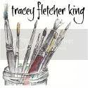 Tracey Fletcher King's blog button