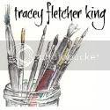 Tracey Fletcher King's blog button