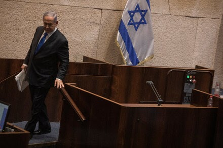 Netanyahu loses office for the first time in 12 years, making way for Naftali Bennett.