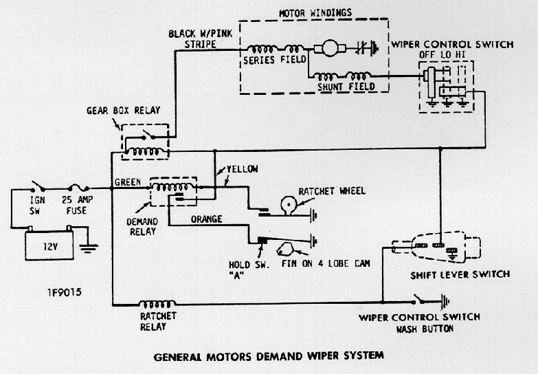 1980 chevy wiper motor wiring  filter wiring diagrams dare