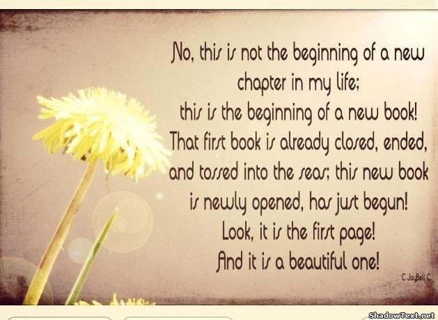 Quotes About New Life New Beginning 32 Quotes