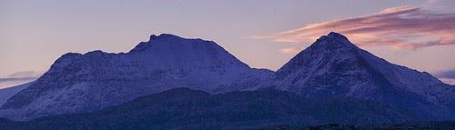 Dawn.  An Teallach. by jimlaide