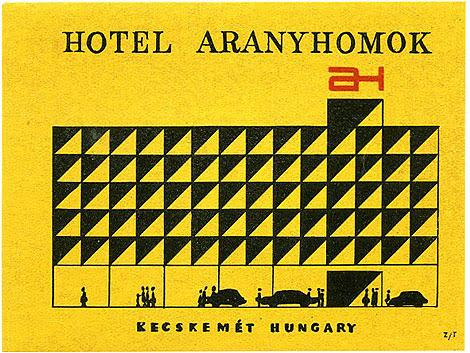 Hotel Aranyhomok, Kecskemét, Hungary.