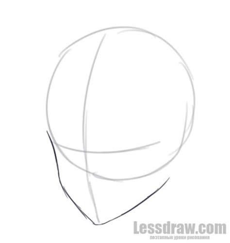 draw anime boy step  step  beginners lessdraw