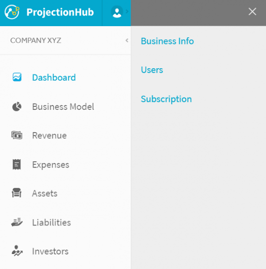 Share your Financial Projections with Investors, Lenders, Accountants, and Partners - ProjectionHub