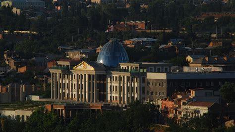 Full HD Wallpaper president palace georgia tbilisi pillar