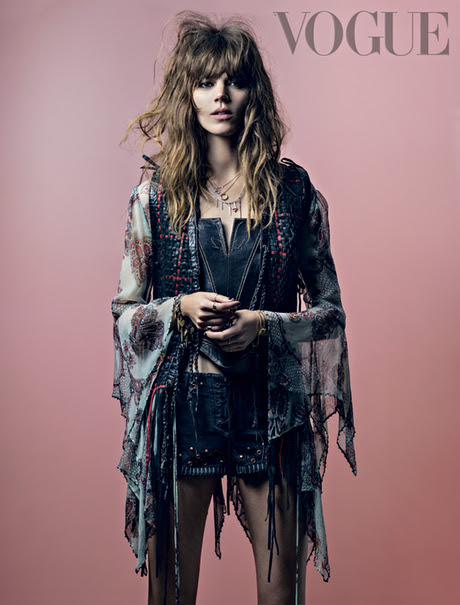 Freja Beha Erichsen, for Vogue