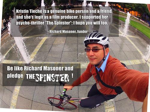 Richard Masoner backed The Spinster
