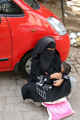 Muslim Beggars Dont Have Time To Celebrate Mothers Day by firoze shakir photographerno1