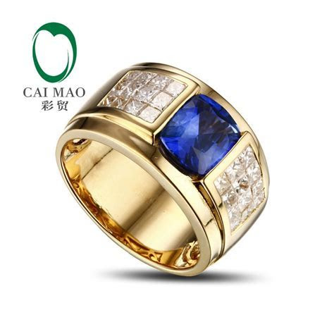 Promotion 14K Yellow Gold 3.1ct Tanzanite & Natural