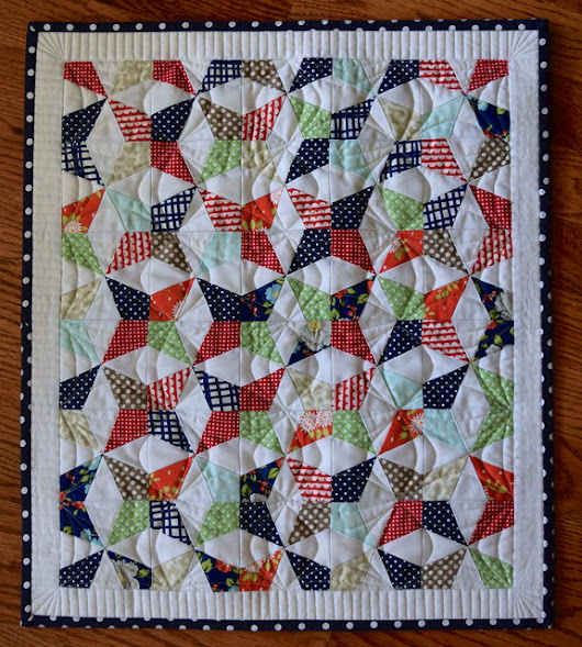 Square Dance Mini Quilt - Quilts Actually