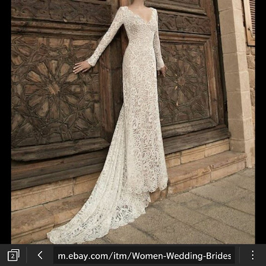 Shopping For A Wedding Dress Online