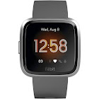 Fitbit Versa Lite Edition Smartwatch (Charcoal) FB415SRGY