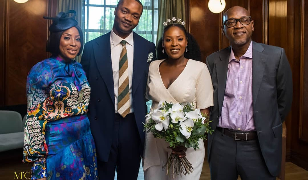 Youngblizzytv Com Photos From The Court Wedding Of Mo Abudu S Daughter Temidayo In London
