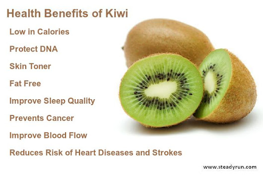 Health Benefits of Kiwi | Steadyrun