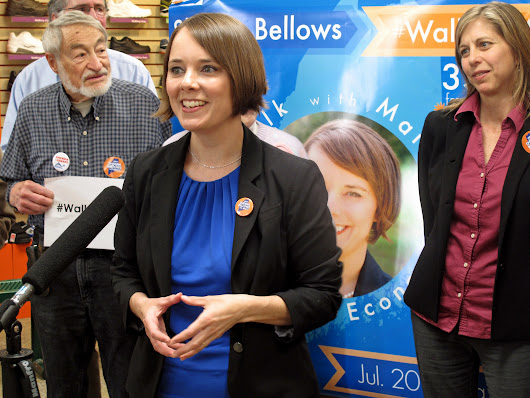 Bellows to walk 350-mile campaign trail from Houlton to Kittery