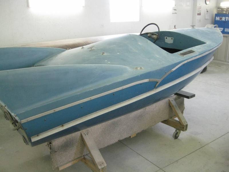 Complete boat and motor restoration. Your not going to find many boats