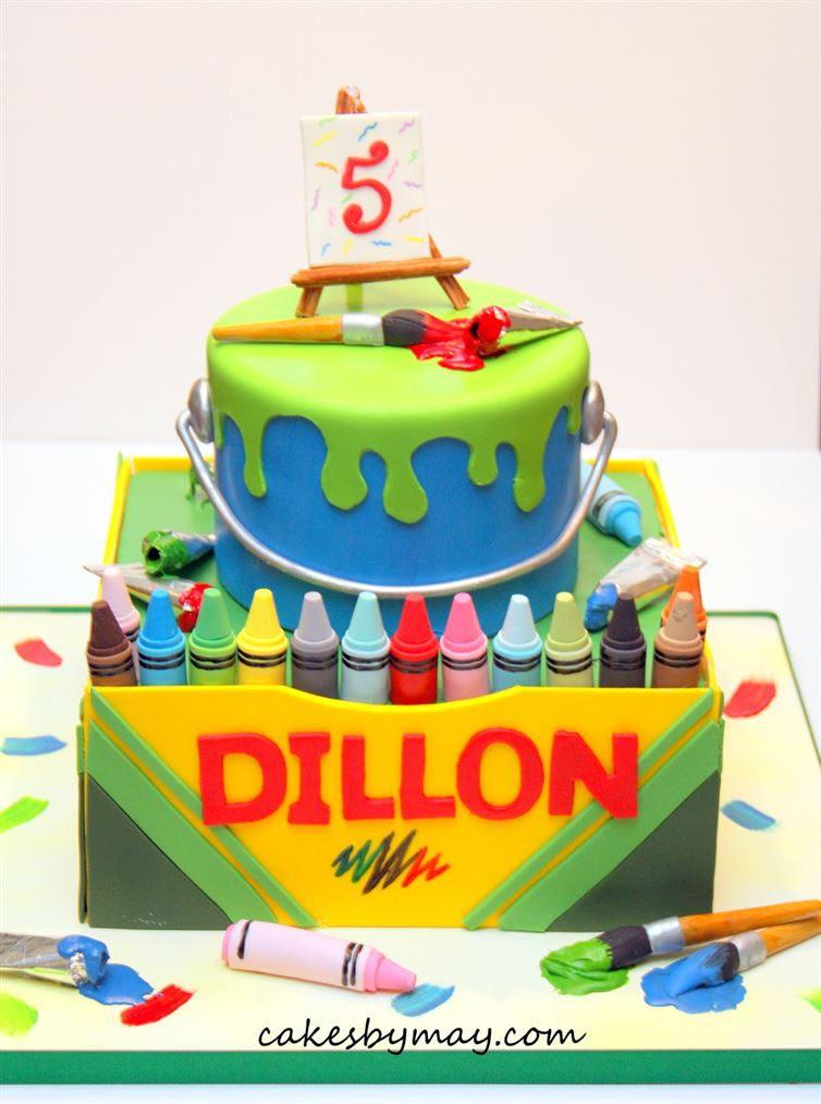 11. Коробка с карандашами произведение, торт