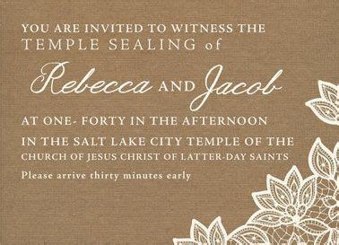 Wedding Invitation Ideas   Utah Announcements   www