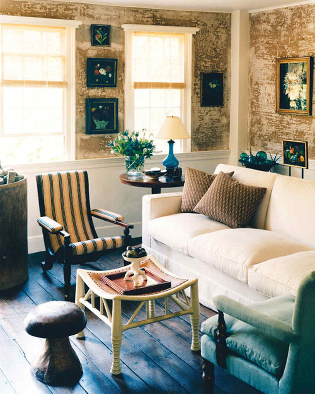 Home  Tour  Country Cottage Martha Stewart