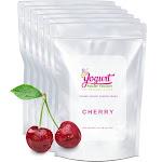 Cherry Frozen Yogurt Pre Mix One Box (12kg/26.45lb) - Yogurt Powder Factory