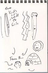 """Lost"" Sketchbook - page 7"