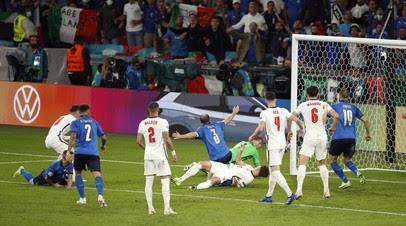 Бонуччи сравнял счёт в матче Италия — Англия
