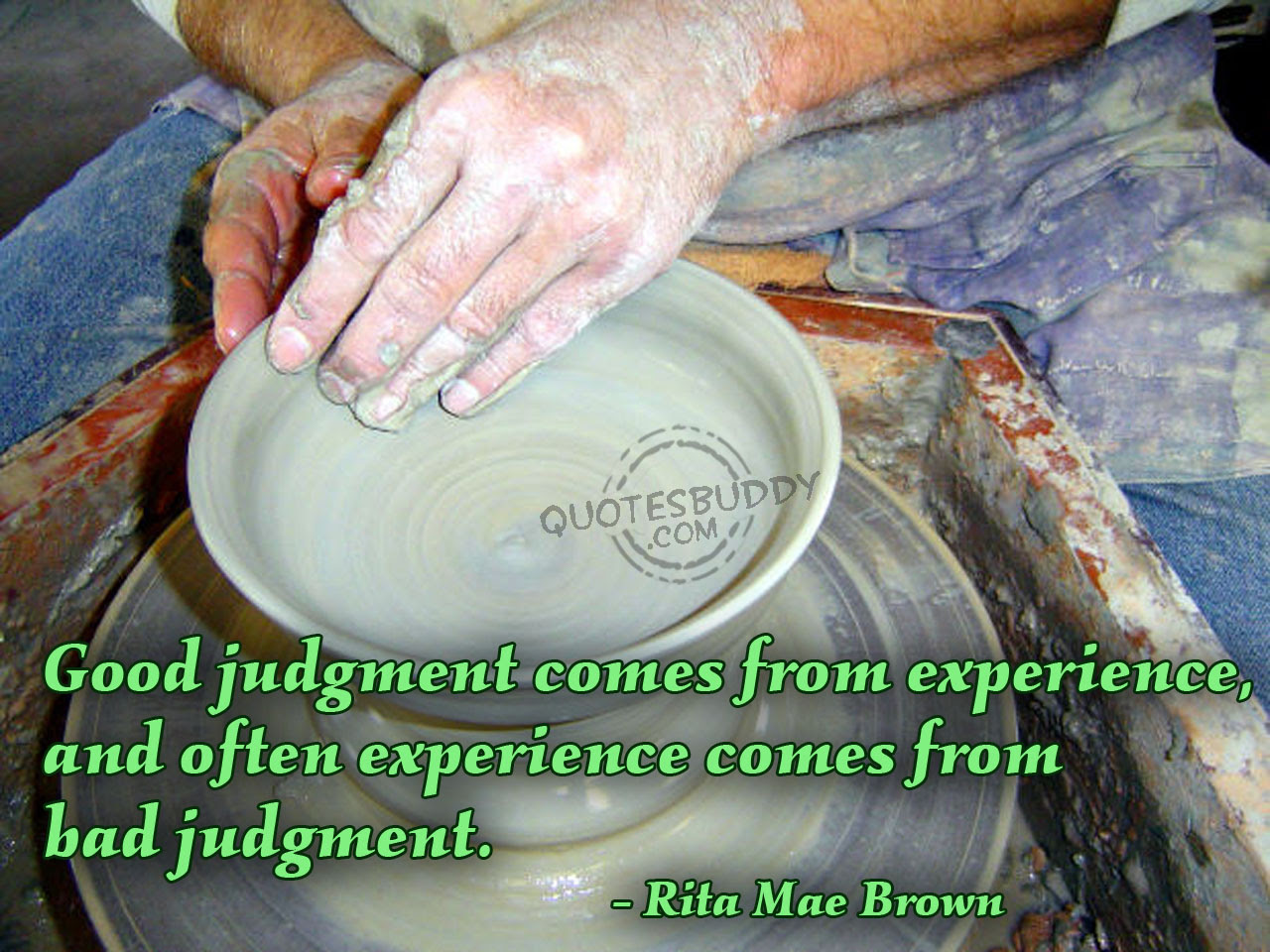 Quotes About Experience And Judgement 32 Quotes