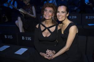 12 Sophia Loren and Roberta Armani CREDIT Giorgio Armani