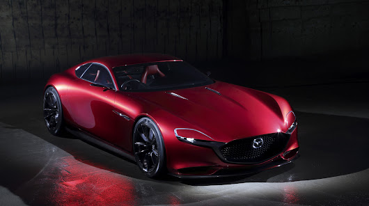 Meet Mazda's brand new rotary sports car: the RX-Vision • CF Blog