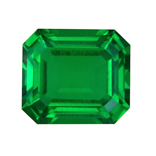 Lab Created Synthetic Colombain Emerald Gemstones | Gemsngems.com