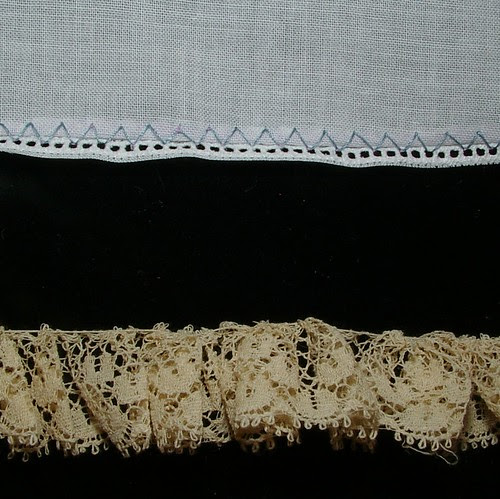 lace gathered 3 to 1