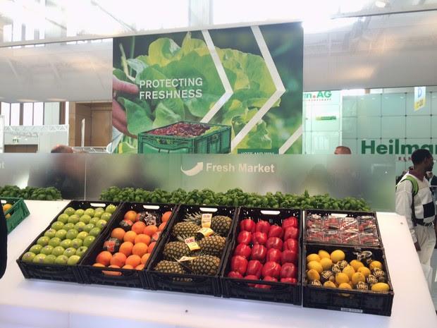 A Fruit Logistica é uma das mais importantes feiras de fruticultura do mundo (Foto: Patrícia Coelho Medeiros/ Arquivo pessoal)