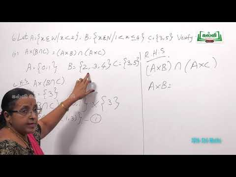 Class 10 Unit 1 Maths Relations and Functions Kalvi TV