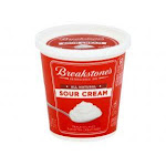 Breakstone's Sour Cream 8oz (PACK OF 12)