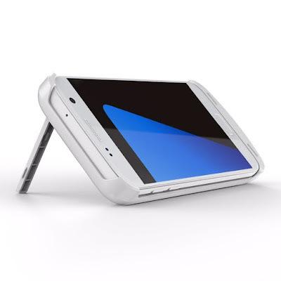 External Battery Case Cover - Portable Power Bank - Samsung Galaxy S7 Edge