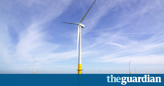 Nuclear plans 'should be rethought after fall in offshore windfarm costs' | Environment | The Guardian